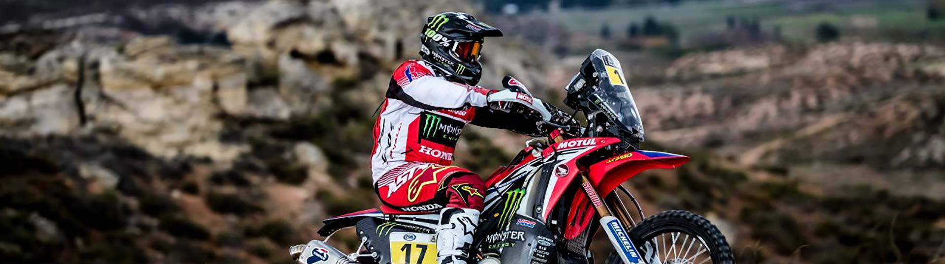Vencedor Motos Dakar Dia 1