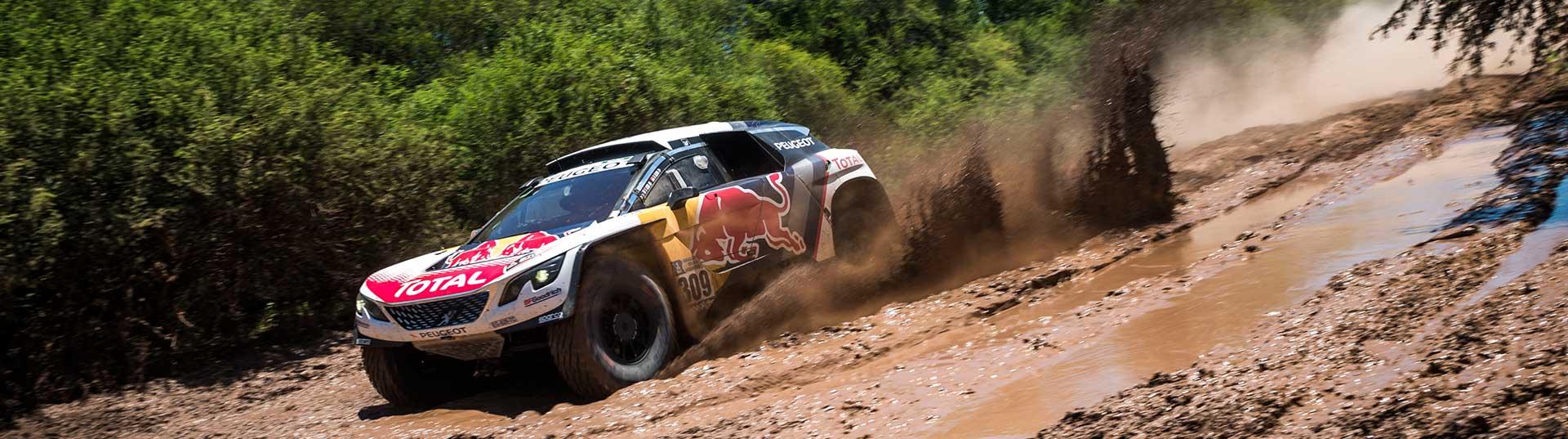 Sébastien Loeb vence dia 2 Dakar