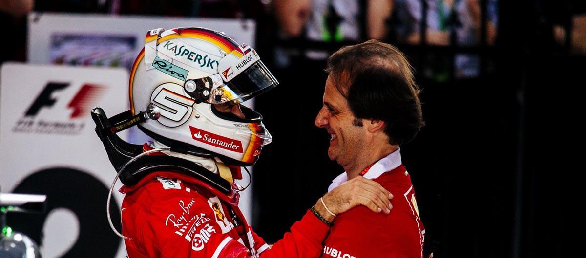 Sebastian Vettel e Ferrarei vencem na Austrália