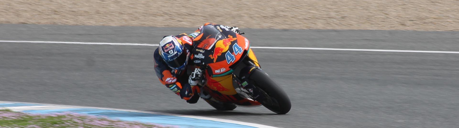 Miguel Oliveira mais rápido no primeiro dia de testes em Jerez de la Frontera