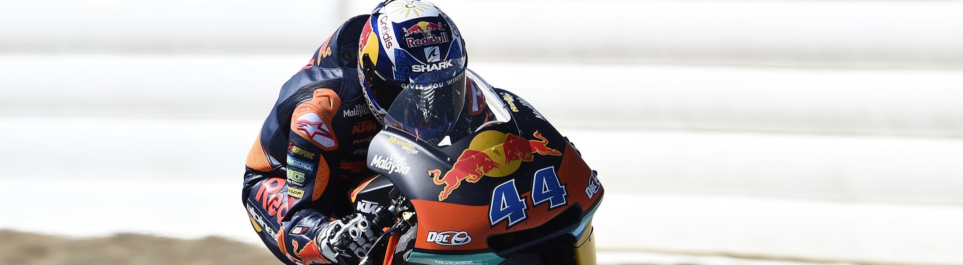 Miguel Oliveira testa em Jerez