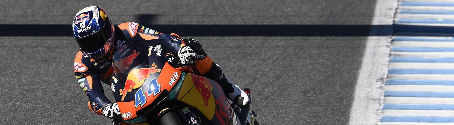 Miguel Oliveira terminou teste de Jerez em terceiro