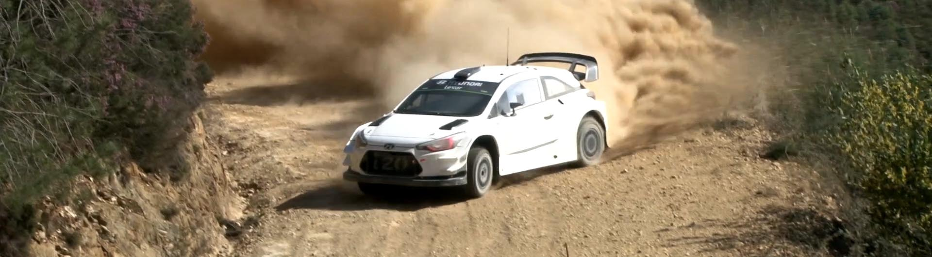 Hyundai testa em Arganil