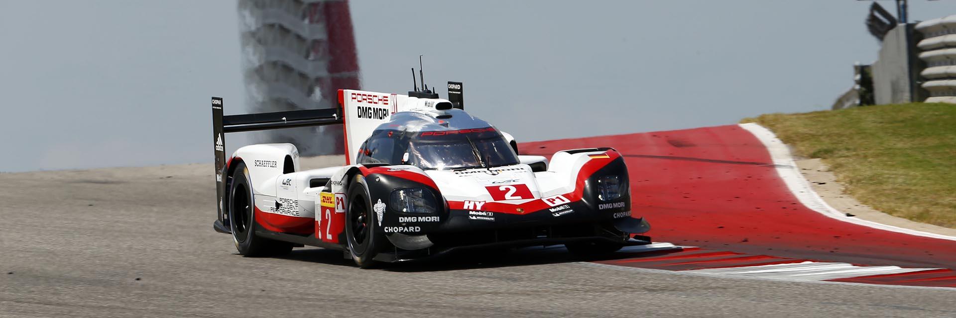 Porsche FIA WEC COTA