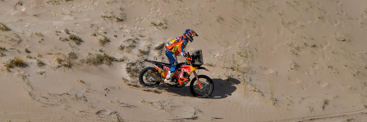 Matthias Walkner Dakar