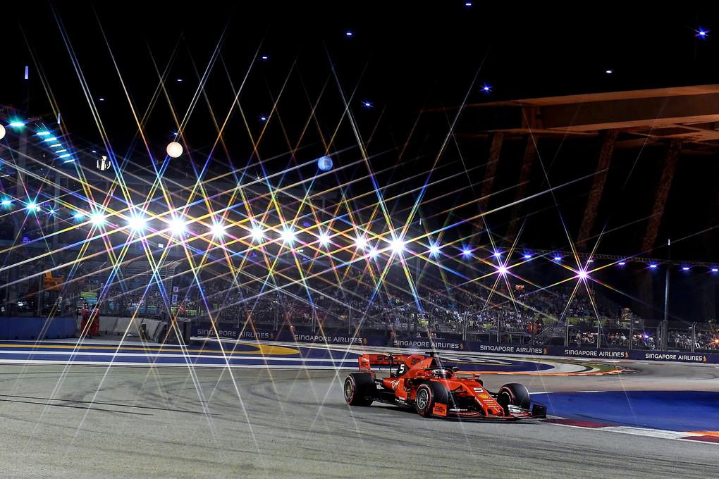 Vettel Singapura