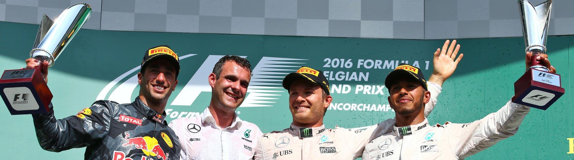 Rosberg vence em Spa