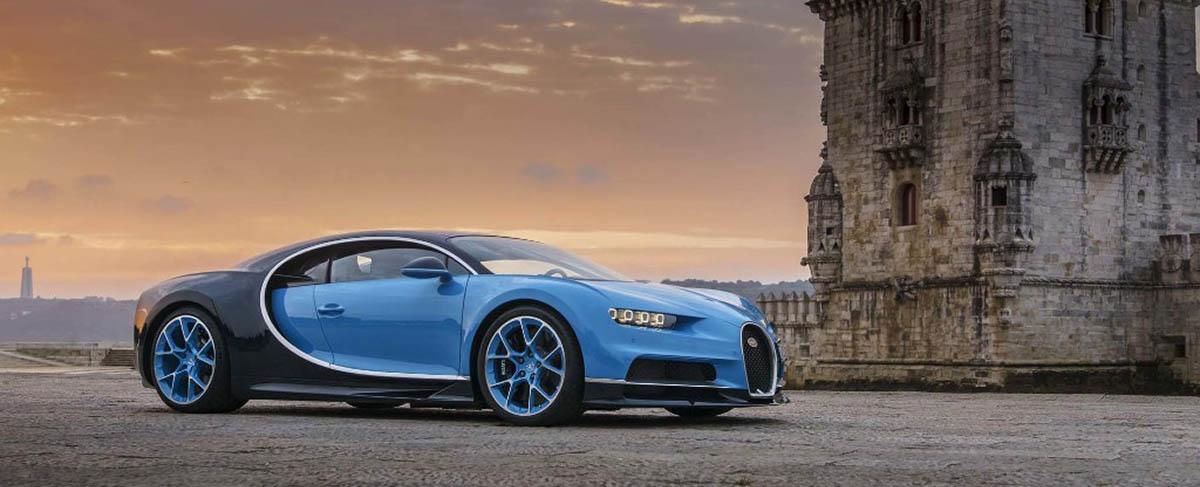 Bugatti Chiron em Portugal